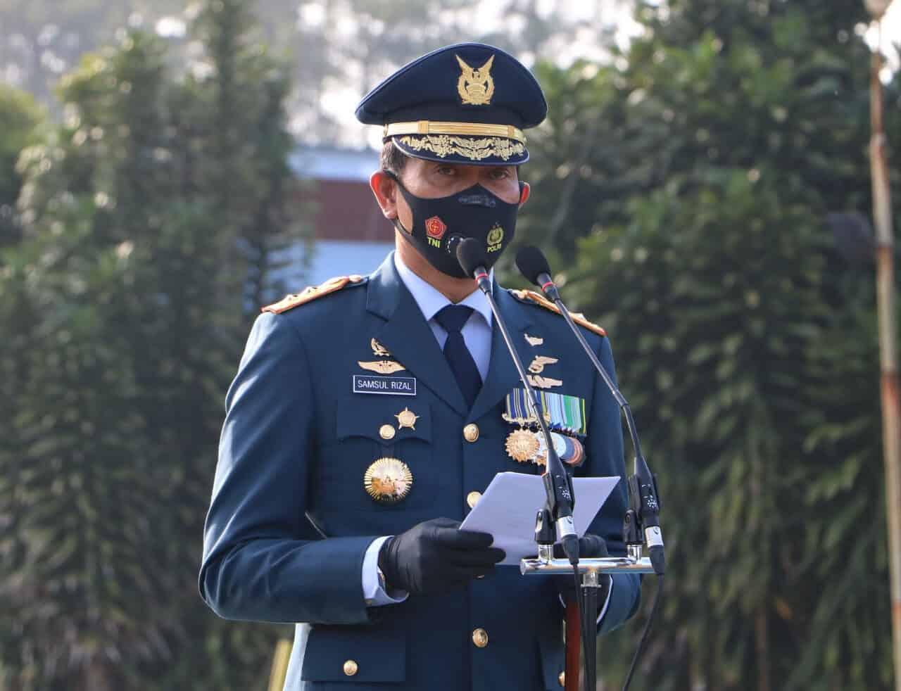 Peringatan Ke-75 Hari TNI Angkatan Udara Wujudkan TNI Angkatan Udara Yang Disegani Di Kawasan