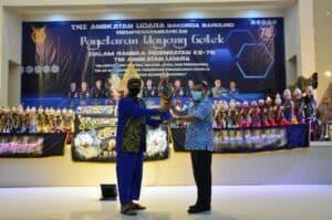 Bakorda TNI AU Bandung Adakan Pagelaran Wayang Golek dalam Rangka Peringatan ke-75 Hari TNI AU
