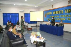 Rapat Anggota Tahunan (RAT) Primkopau Pukadara Lanud Suryadarma