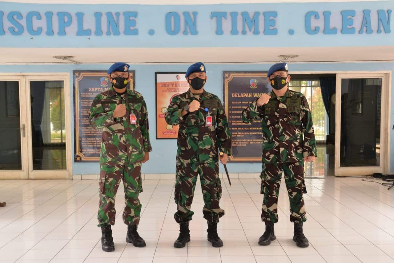 Letkol Pom Rudi Amru Resmi Jabat Kepala Dinas Operasi Lanud Soewondo Menggantikan Letkol Pom Adi Wijaya
