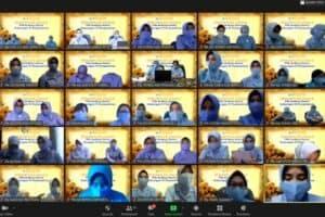Ketua PIA Ardhya Garini Gabungan IV Korpaskhas Lounching E_Buletin Perempuan Jingga Edisi Pertama