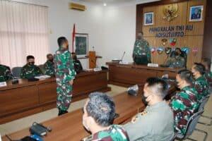 Entry Briefing Audit Itjen TNI di Lanud Adisutjipto