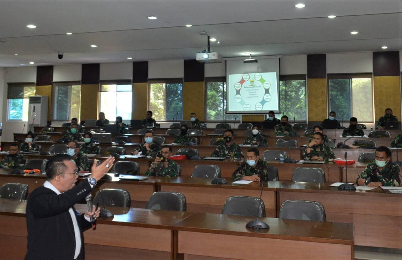 Pasis Sesau A-15 Ikuti Ceramah Reformasi Birokrasi