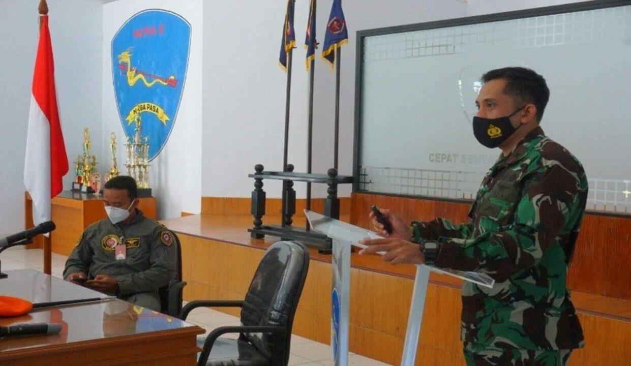 Dandenmatra 2 Paskhas Menerima Kunjungan Para Candidate FWIC TNI AU TA 2021
