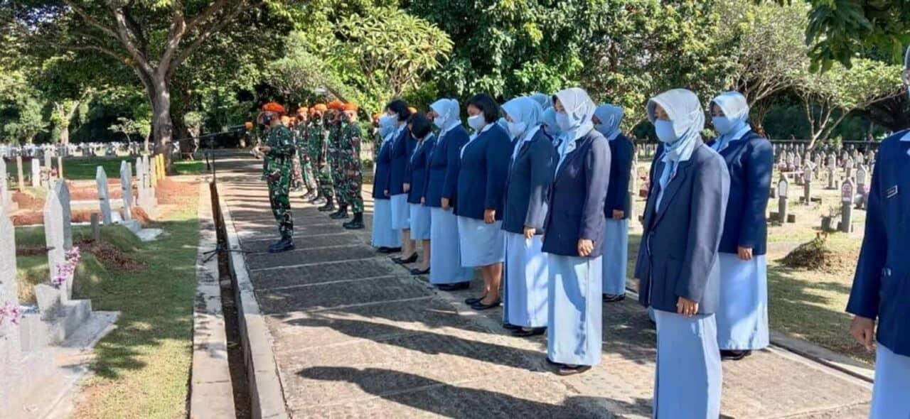 Ziarah Dalam Rangka HUT TNI AU Ke 75