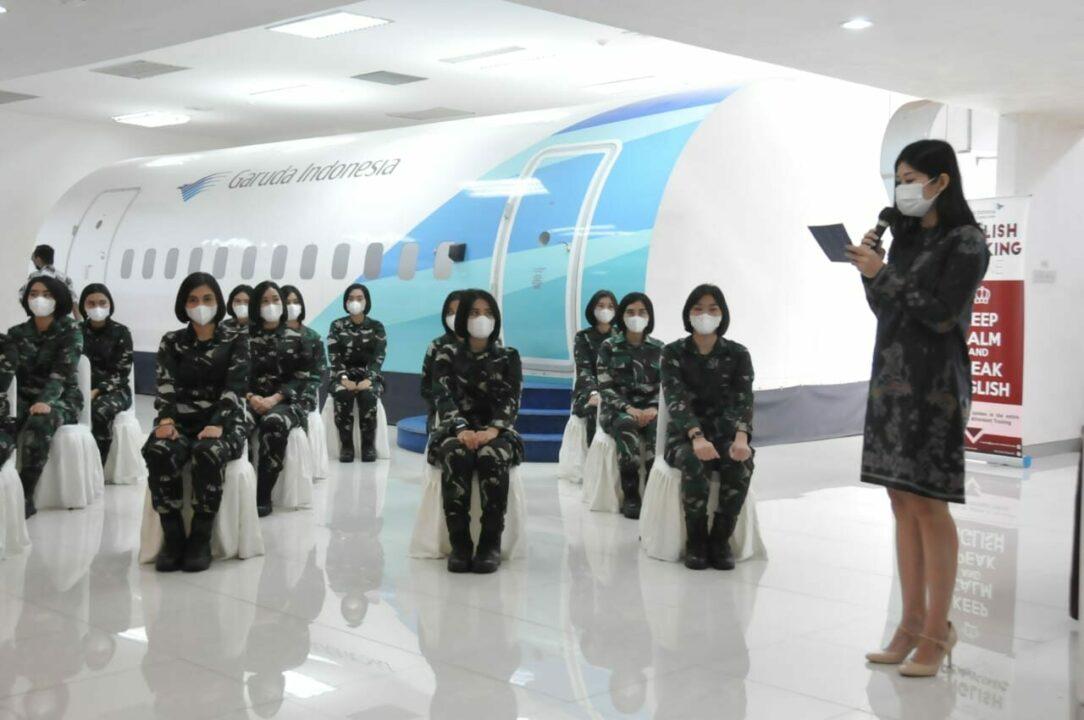 18 Calon Pramugari VVIP/VIP TNI AU ikuti Pelatihan Pramugari di GITC.