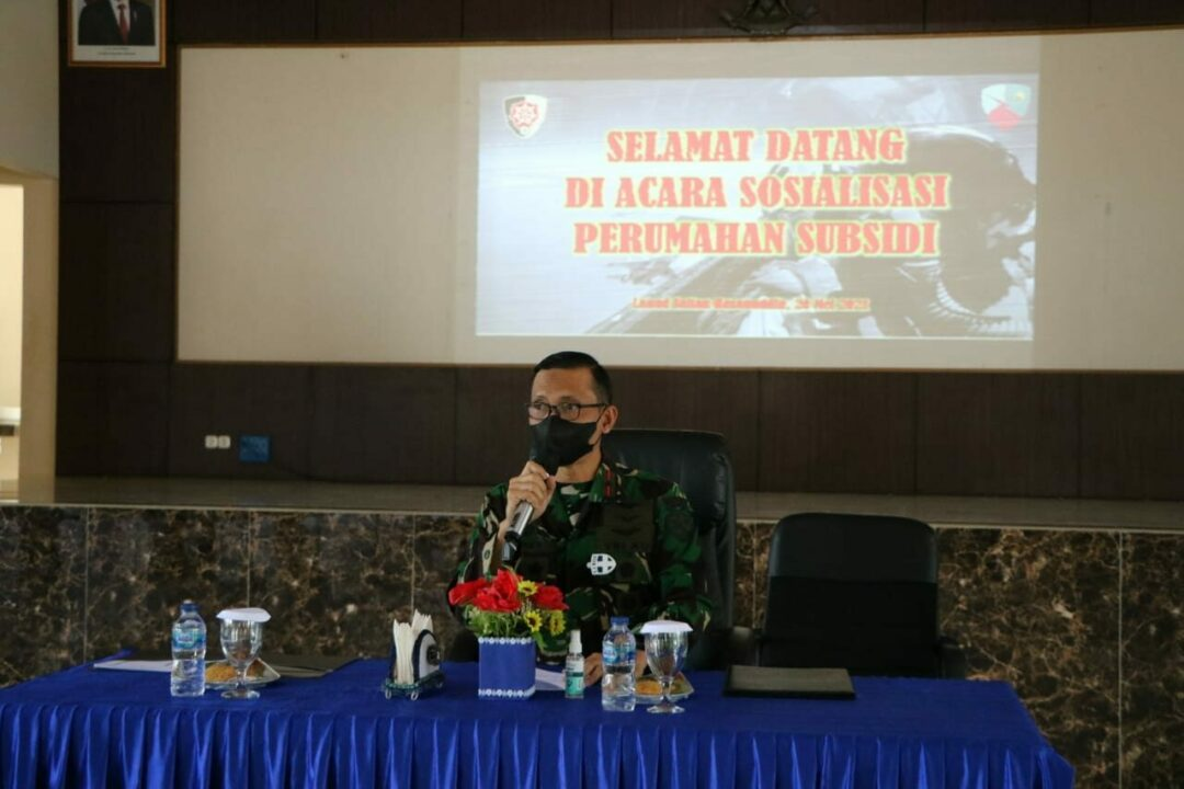 Sosialisasi Perum Bersubsidi Bagi Anggota Lanud Sultan Hasanuddin