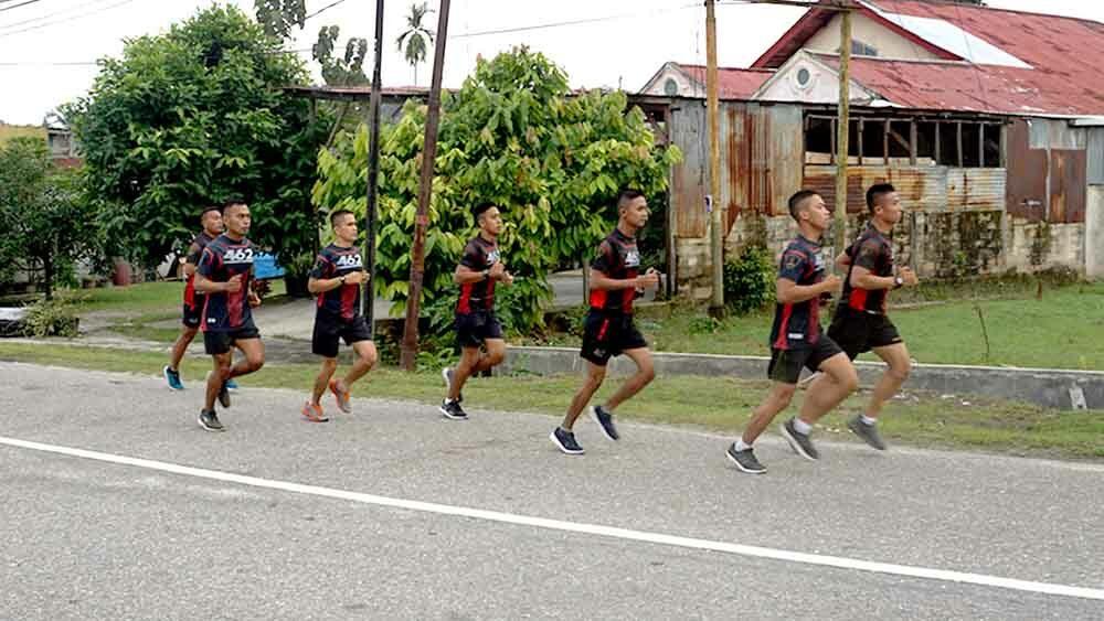 Jum'at Berkah Batalyon Komando 461 Paskhas