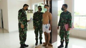 Sidang Pantukhir Daerah Casis Bintara TNI AU Lanud Sultan Hasanuddin