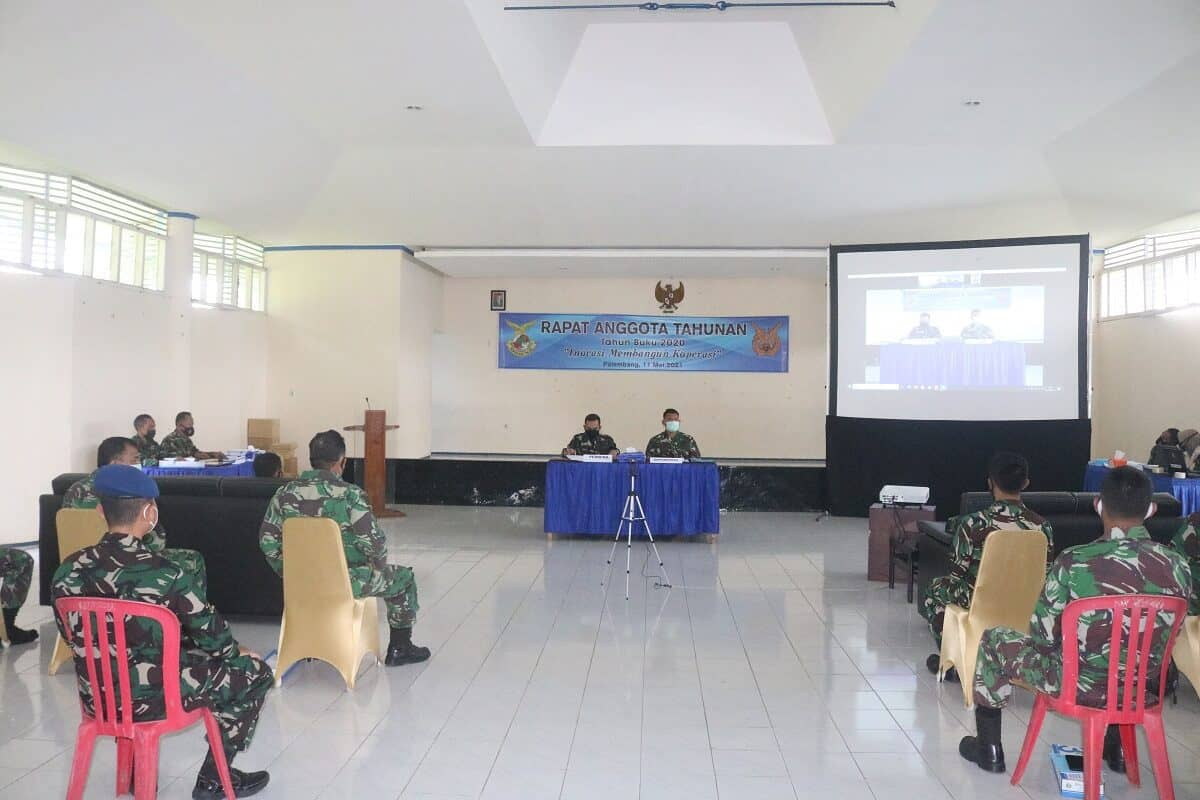 RAT Primkopau Lanud Sri Mulyono Herlambang