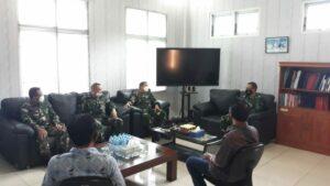 Komandan Lanud Sultan Hasanuddin Menerima Kunjungan Tim Verifikasi LGA Kemenhan RI.