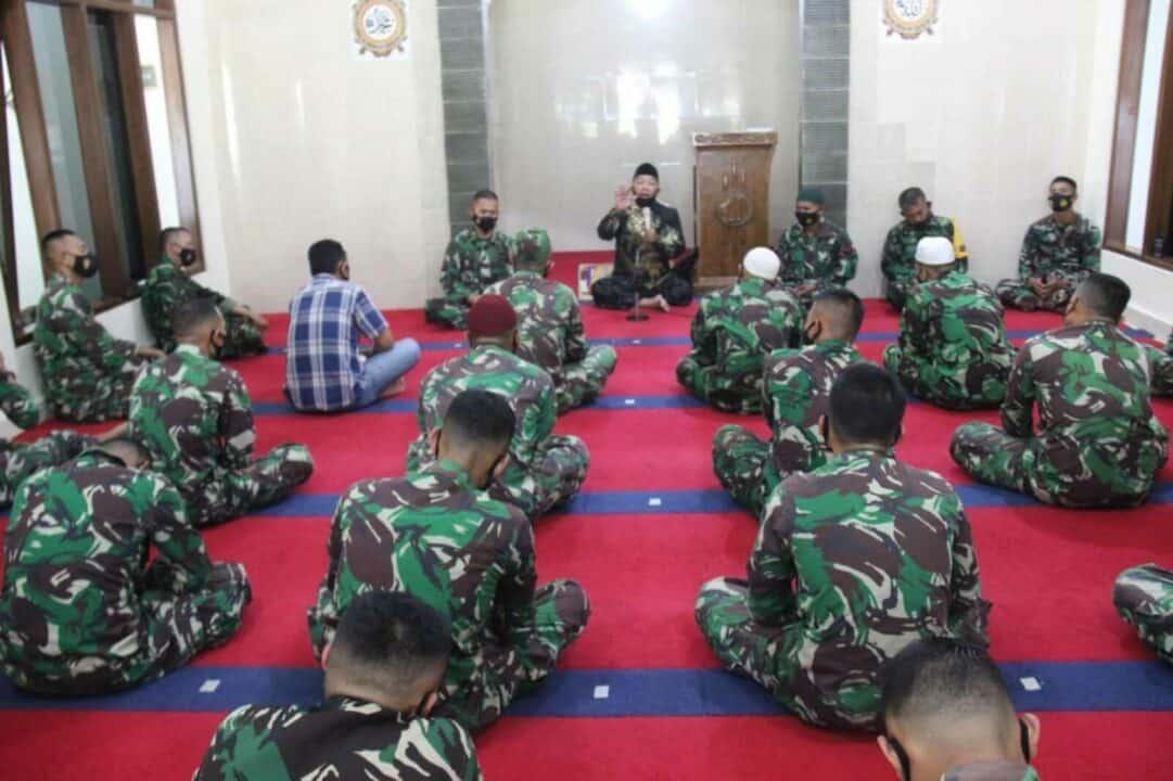 Gunakan Nuzulul Quran Sebagai Pedoman Bagi Prajurit Untuk Diimplementasikan Dalam Kehidupan Prajurit TNI