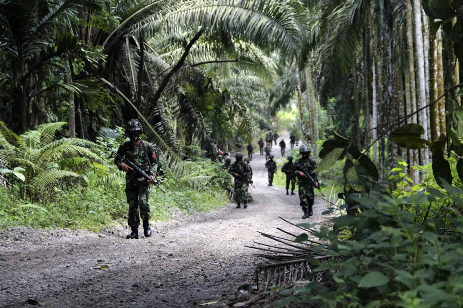 Yonko 469 Paskhas Laksanakan Latihan Uji Siap Tempur (Ust) Tingkat Peleton.