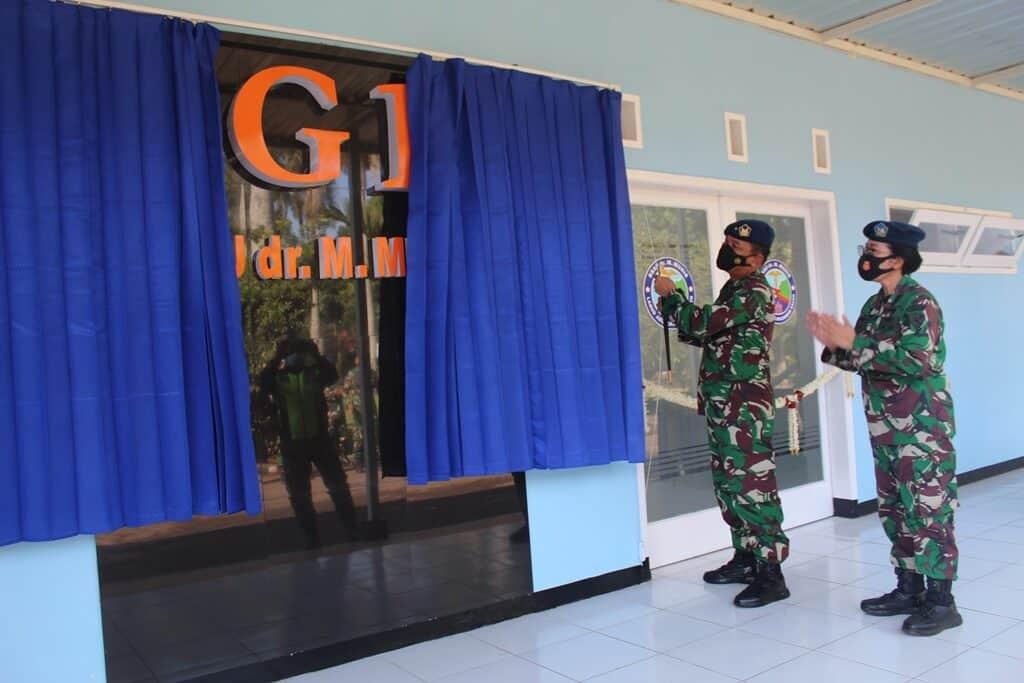 Komandan Lanud Abd Saleh Resmikan Renovasi IGD RS TNI AU dr M Munir