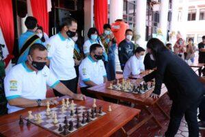 Pembukaan Festival Olahraga Dan Masyarakat (Formasi) Dalam Memperingati HUT Kota Balikpapan Ke-124