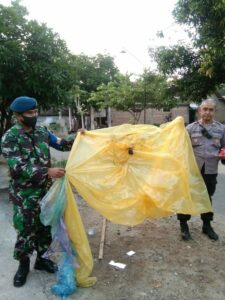 Amankan 9 Balon Udara, Lanud Iswahjudi Bersama Aparat Gabungan Semakin Gencar Gelar Patroli