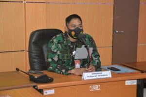 Penutupan Kursus Military Civil Coordintion (MCC) XXV di Pusdiklat Hanudnas