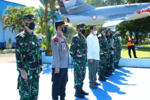 Panglima TNI Bersama Kapolri Kuker ke Touna Ampana Sulawesi Tengah