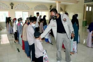TNI Polri Dan HDCI Chapter Tasikmalaya Gelar Peduli Ramadhan