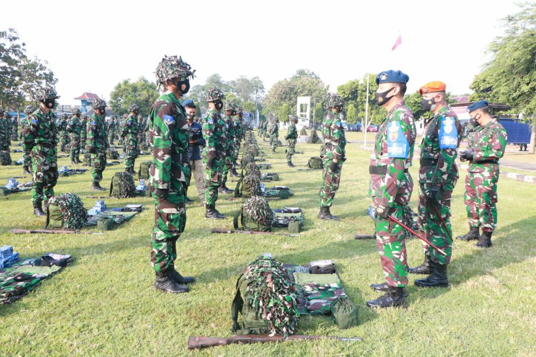 Siswa Setukba TNI AU A-38 Laksanakan Latihan Berganda