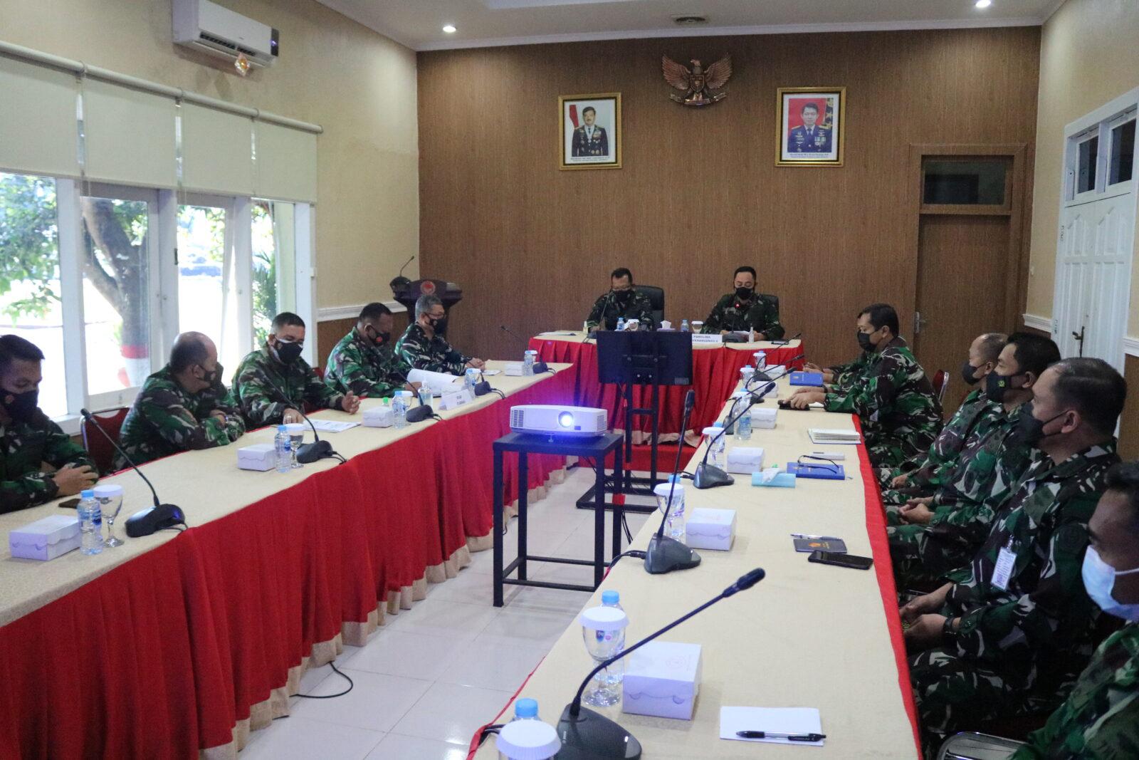 Entry Briefing Itjenau di Makosekhanudnas II