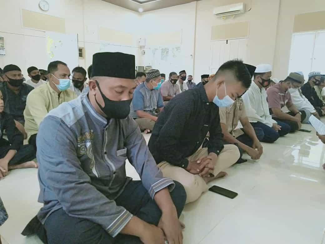 Memasuki Malam Ke 25 Puasa Bulan Ramadhan, Personil Lanud Mus Peringati Malam Nuzulul Qur'an.
