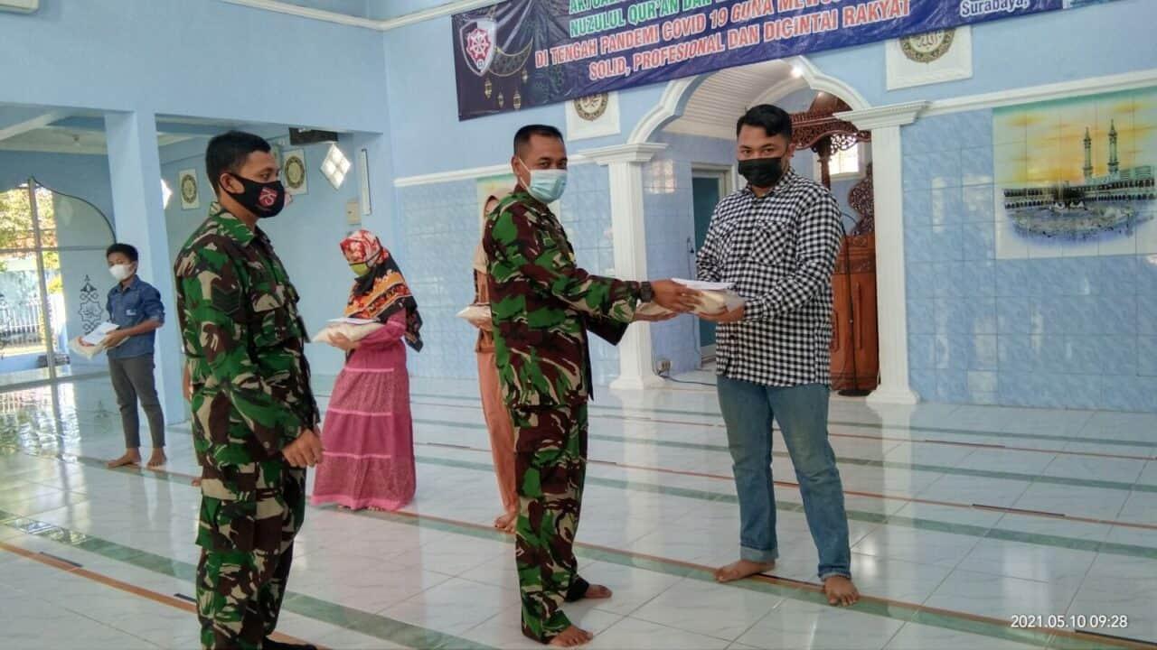 Lanud Muljono menyalurkan Zakat Fitrah
