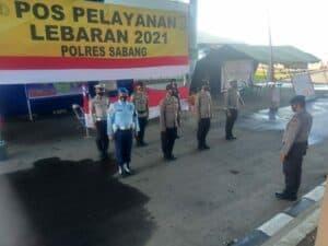 Personil SatpomAU Lanud Mus, Ikut Andil Perketat Pelabuhan Balohan Kota Sabang