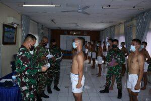Danlanud Sutan Sjahrir Pimpin Sidang Pantukhirda Casis Bintara Gelombang I