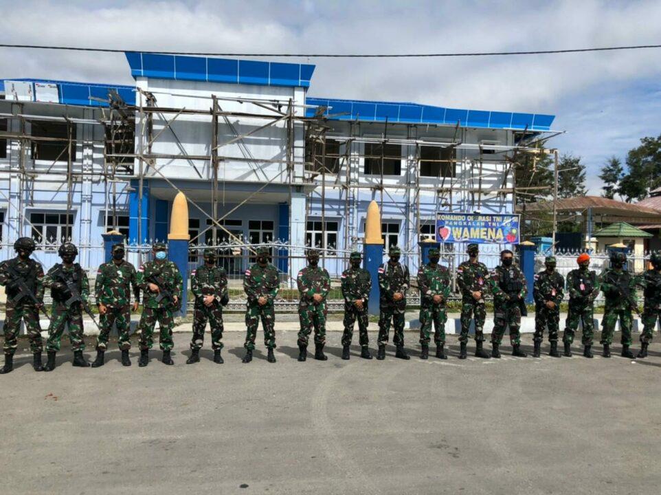 Pangkoopsau III kunjungan kerja di Lanud Wamena Kabupaten Jayawijaya Papua