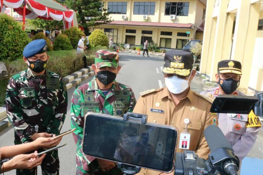 "Lanud Sjamsudin Noor Ikuti Gelar Pasukan Operasi Kepolisian Terpusat ""Ketupat Intan – 2021"""