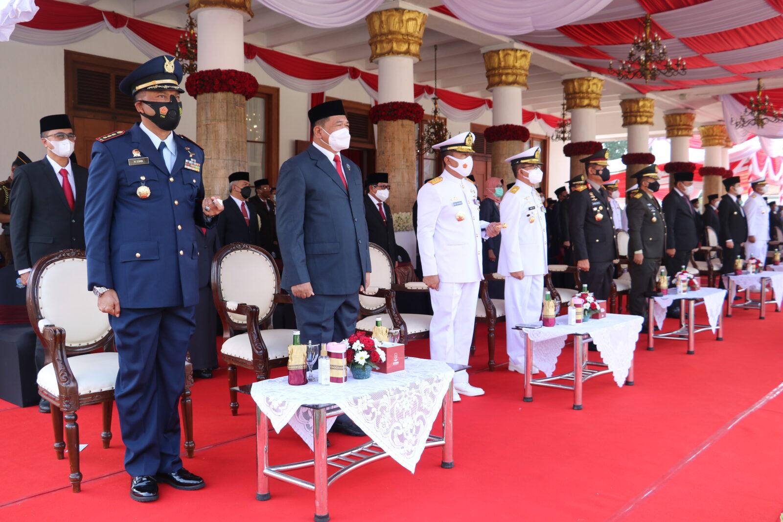 Komandan Lanud Muljono Hadiri Upacara Hari Kebangkitan Nasional Ke-113