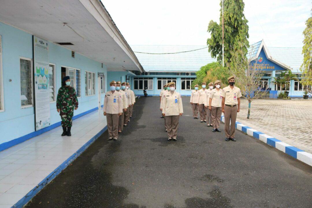 Personil Lanud Sjamsudin Noor Rutin Laksanakan Latihan PBB