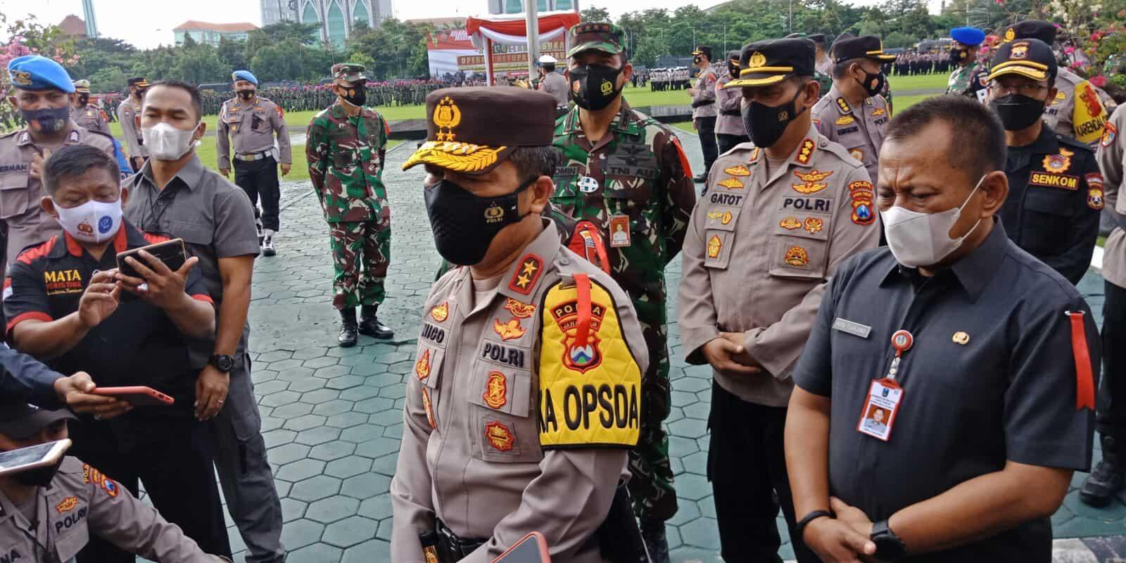 Danlanud Muljono Hadiri Apel Gelar Pasukan Operasi Ketupat Semeru 2021