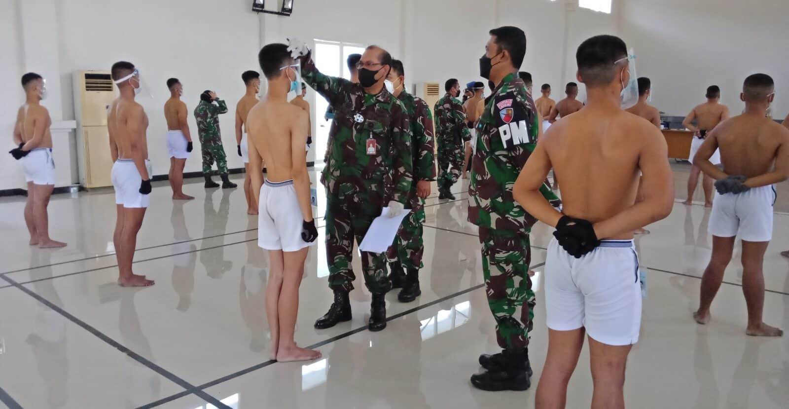 Danlanud Muljono Pimpin Pantukhirda Calon Prajurit TNI-AU