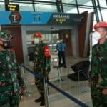 Jelang Arus Mudik, Pangkoopsau I Pastikan Kesiapan Posko Gabungan TNI Polri di Bandara Soekarno Hatta