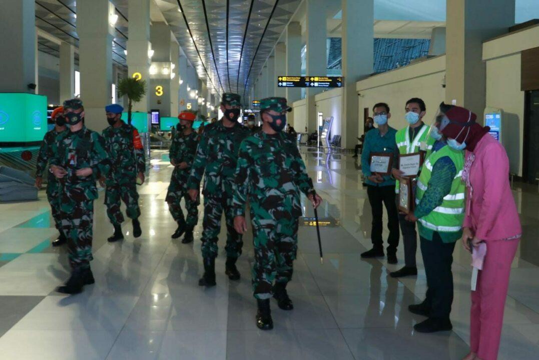 Pangkoopsau I Pantau Arus Balik Di Bandara Soetta, Cengkareng