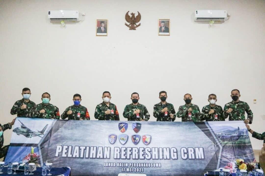 Danlanud Halim Buka Refreshing Pelatihan CRM