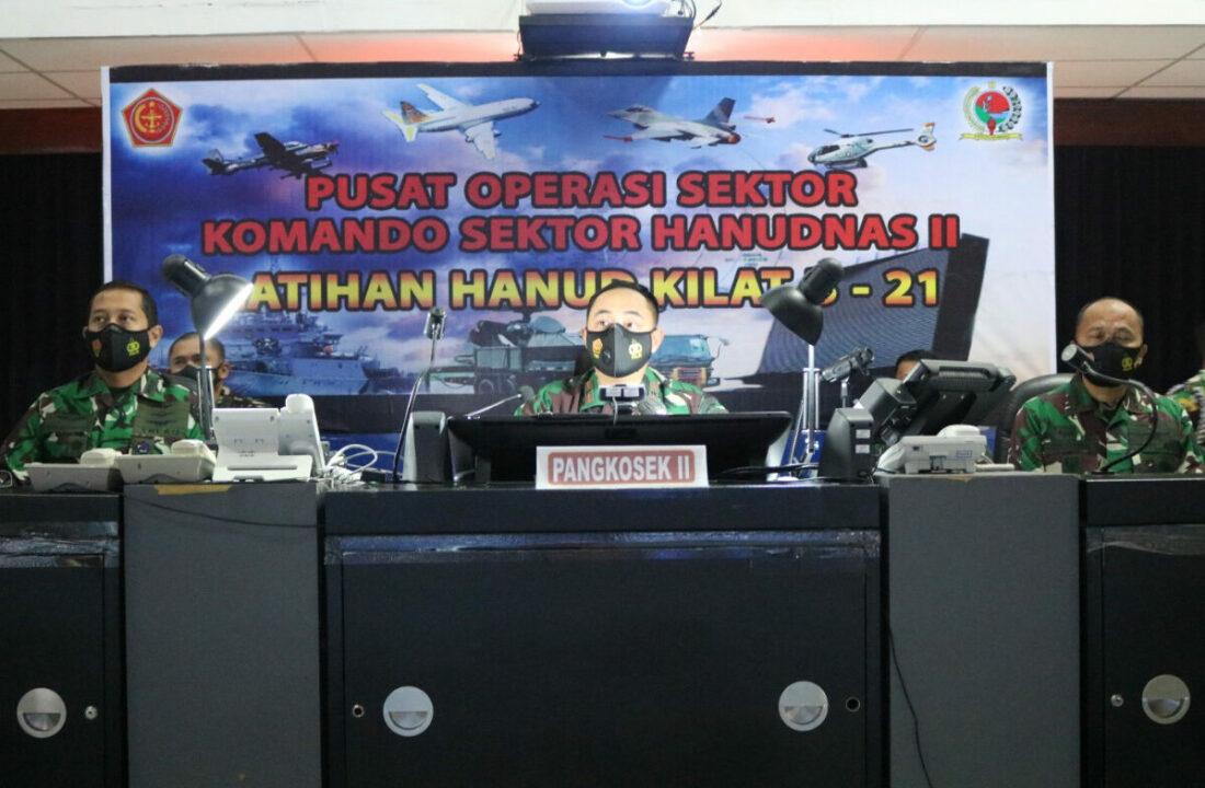 Pangkosekhanudnas II, Buka Latihan Kilat B-21 Kosekhanudnas ll T.A. 2021