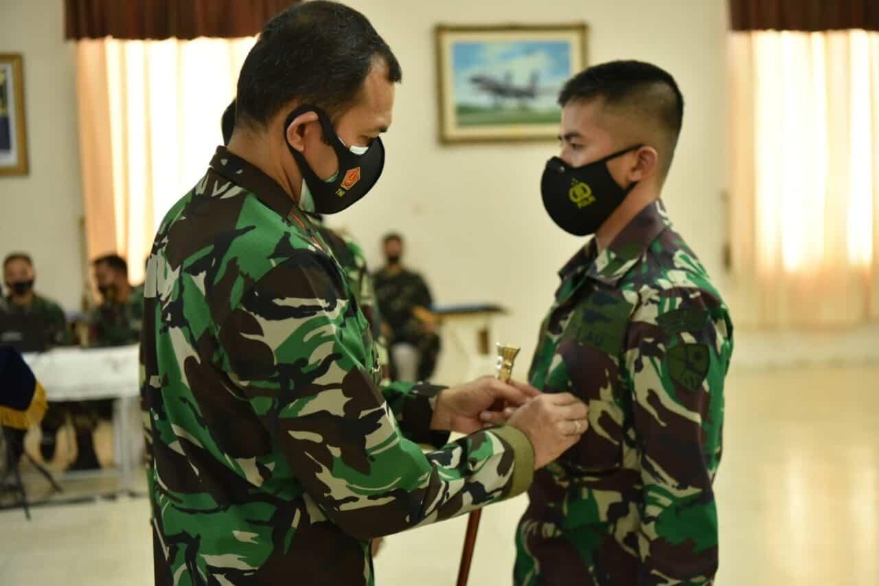 Penutupan Pendidikan Kursus Dasar Operator PTTA Angkatan 3 di Lanud Adisutjipto