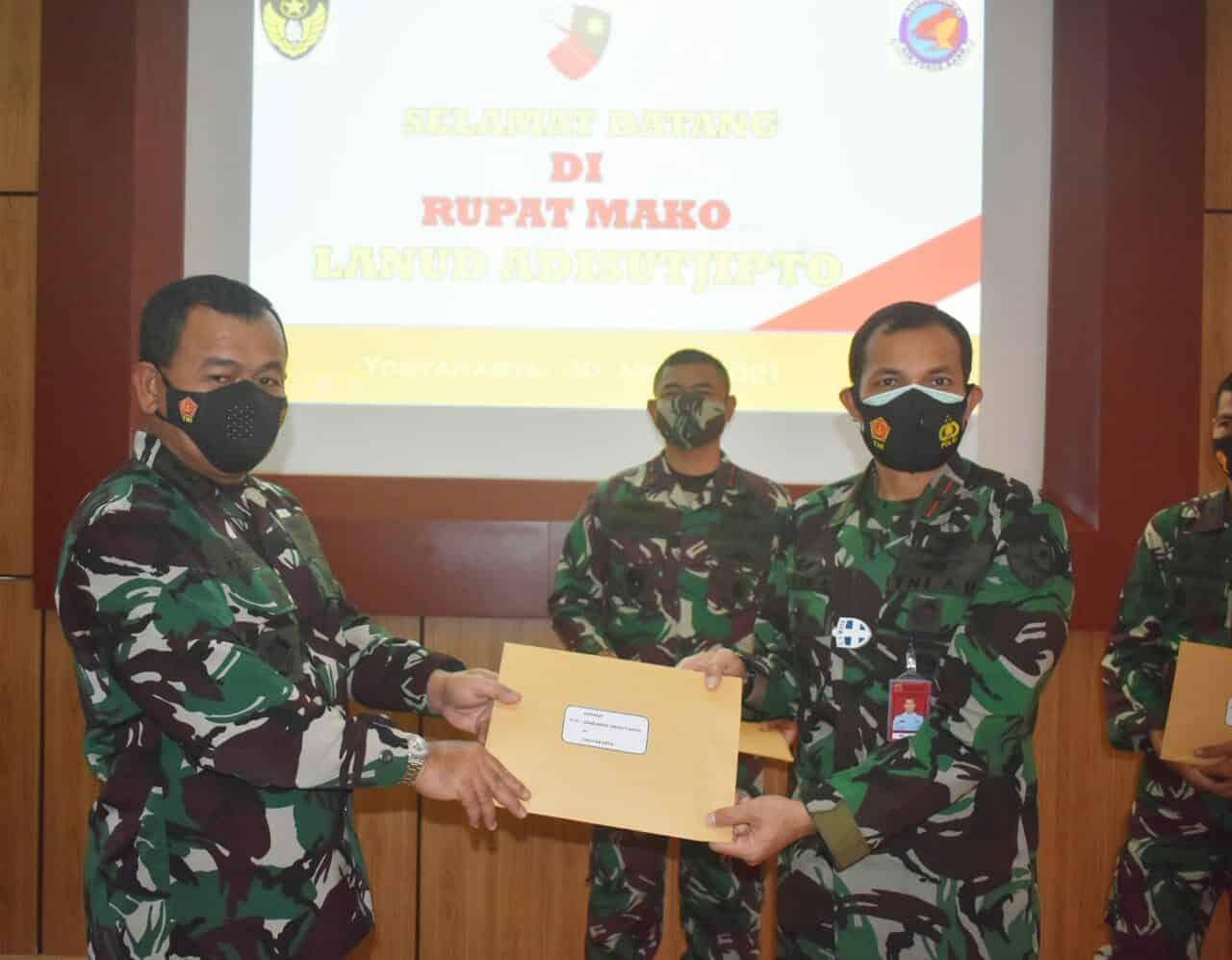 Taklimat Akhir Audit Tim Itjen TNI terhadap kinerja organisasi dan keuangan satuan TNI di Jawa Tengah dan DIY
