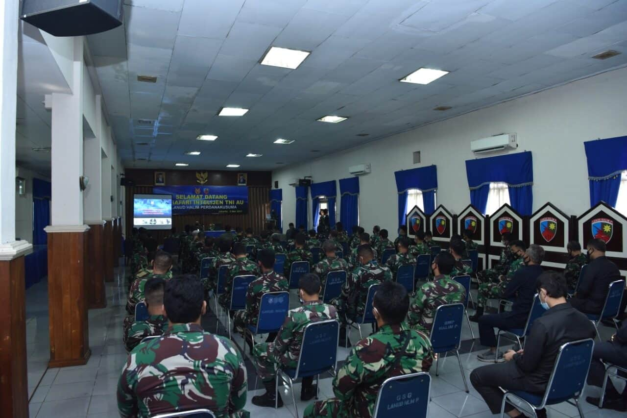 Personel Lanud Halim Ikuti Safari Intelijen TNI AU