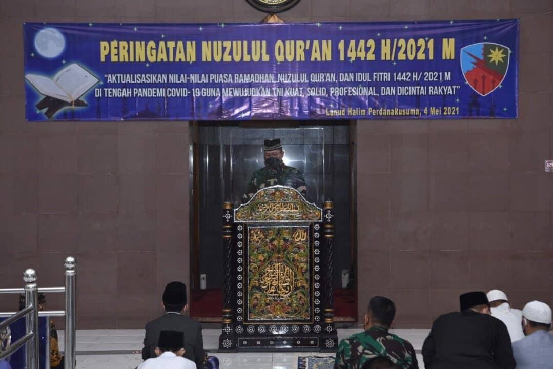 Lanud Halim Peringati Nuzulul Qur'an 1442 H