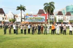 Danlanud Adisutjipto hadiri apel gelar pasukan Ketupat Progo 2021