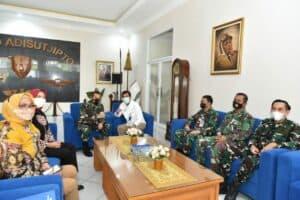Lanud Adisutjipto terima sponsorship Disinfectant Chamber dari Bank Mandiri