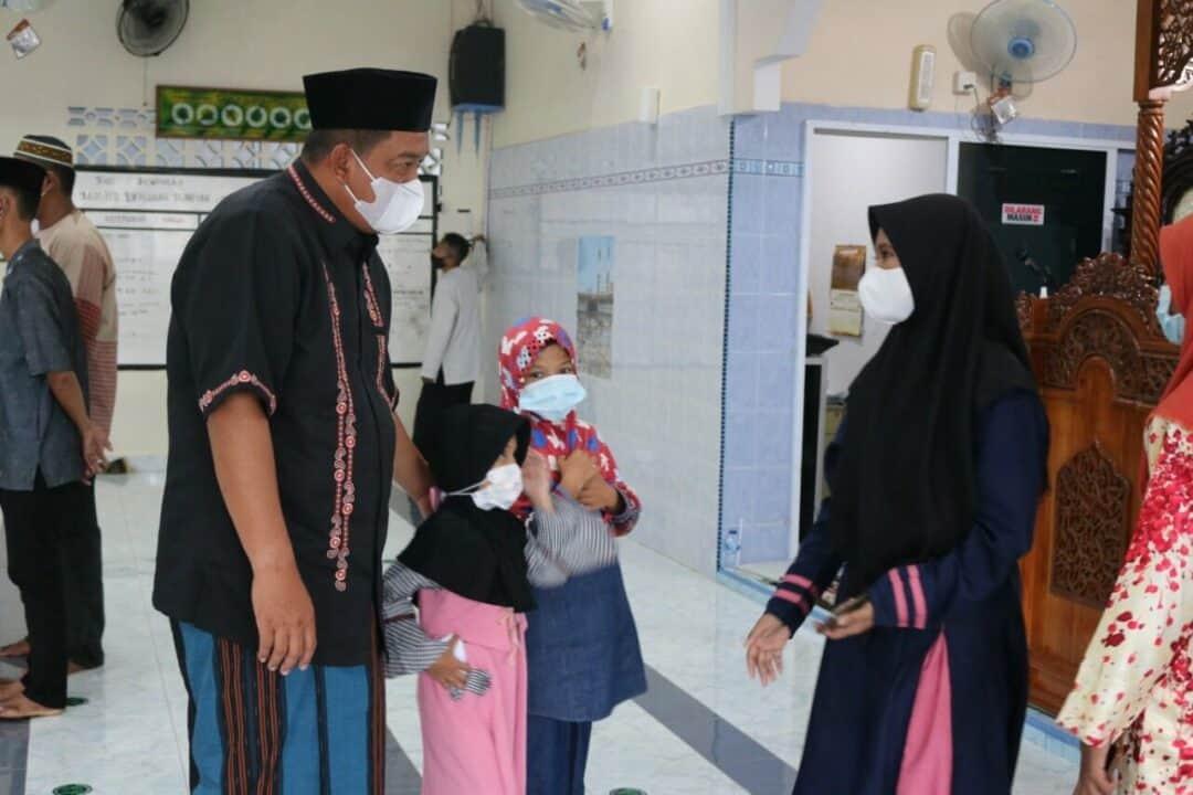 Berbagi di Bulan Ramadhan, Danlanud RHF Santuni Panti Asuhan