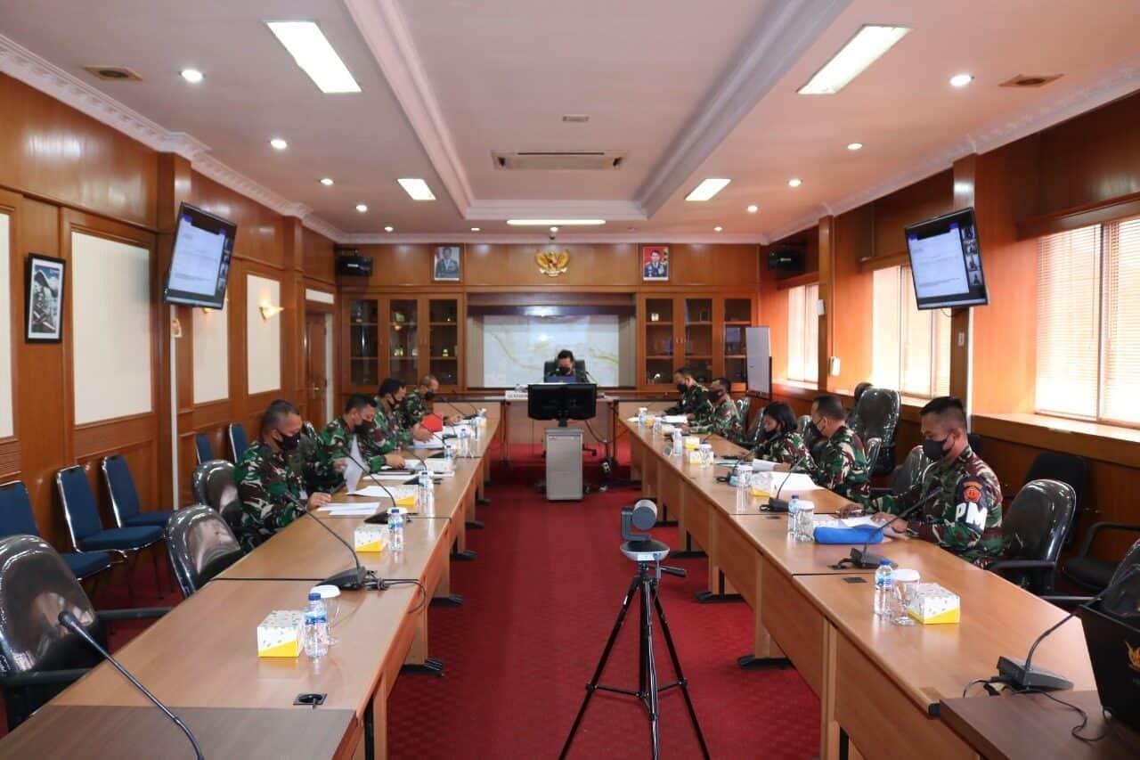 Kaskohanudnas Pimpin Rakor UKP Bintara dan Tamtama