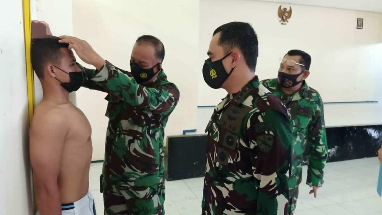 Lanud SMH Gelar Pantukhir CASIS Bintara PK 47 TA 2021
