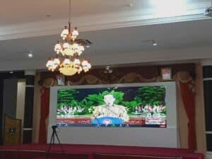 Danlanud Sutan Sjahrir Ikuti Conference Secara Virtual Yang Dipimpin Oleh Presiden RI