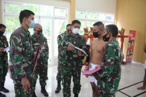 Sidang Pantukhirda Penerimaan Bintara di Lanud J.B. Soedirman